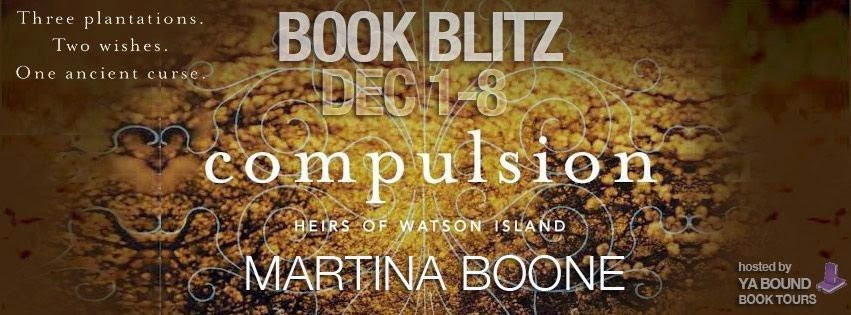 Book Blitz and Giveaway: Compulsion by Martina Boone