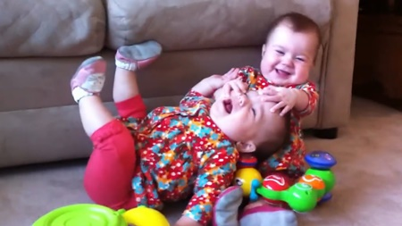 Funny Twin Babies Fighting Over Stuff Compilation
