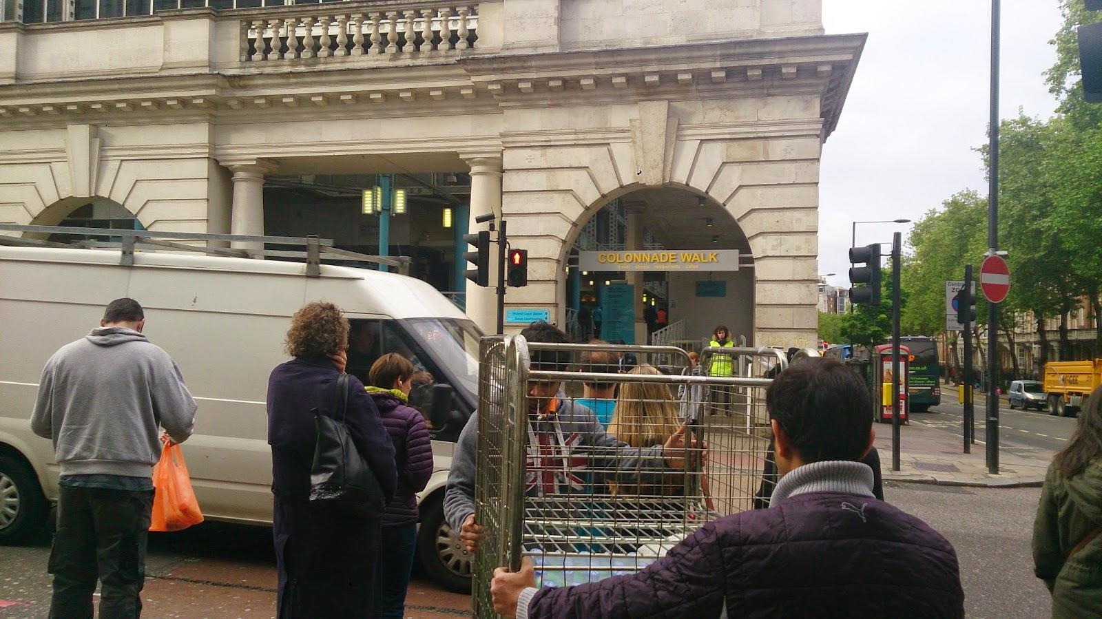 英國 單車 足球 聚舊之旅 倫敦 Fountain Square