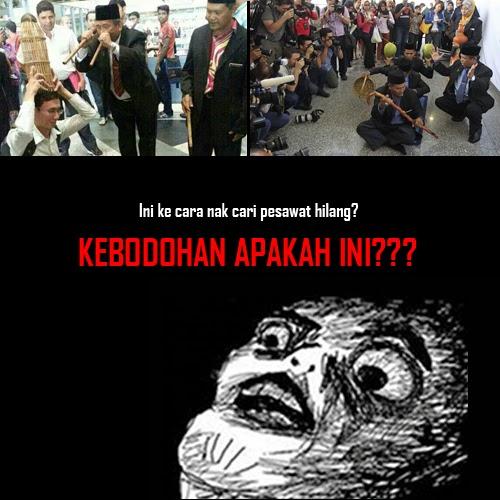bomoh klia, mh370, pesawat MAS hilang, teropong, bubu, karpet terbang