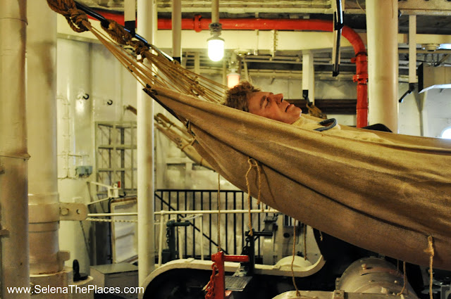 Hammocks HMS Belfast London