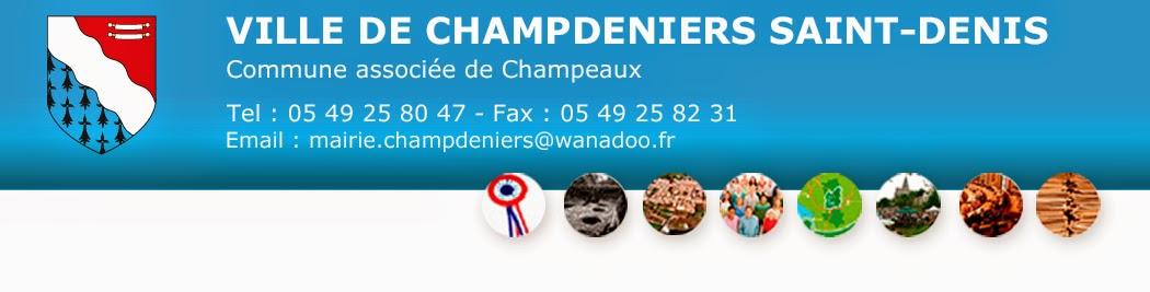 Mairie de Champdeniers