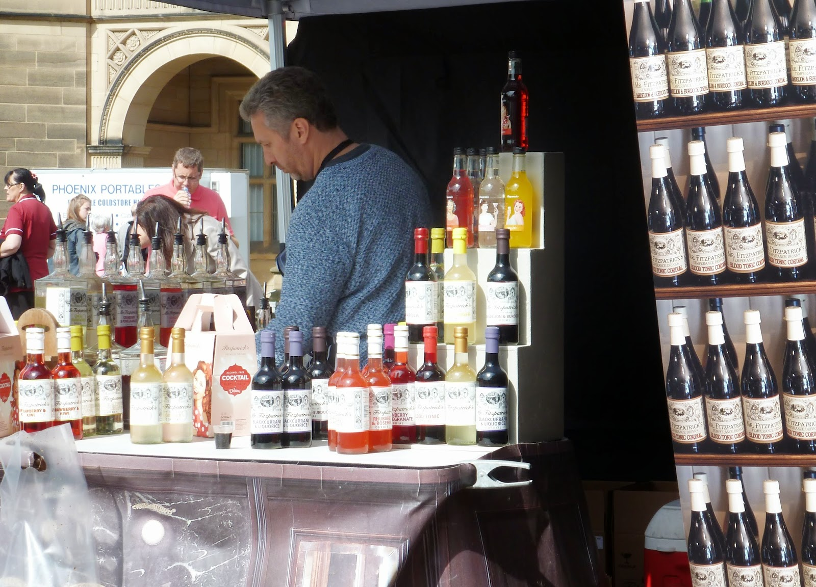The great british food festival 2014 Mr fitzpatricks alcohol