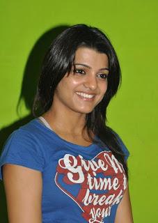 Tashu Kaushik in a Blue T Shirt Tight Spciy Tashu Kaushik