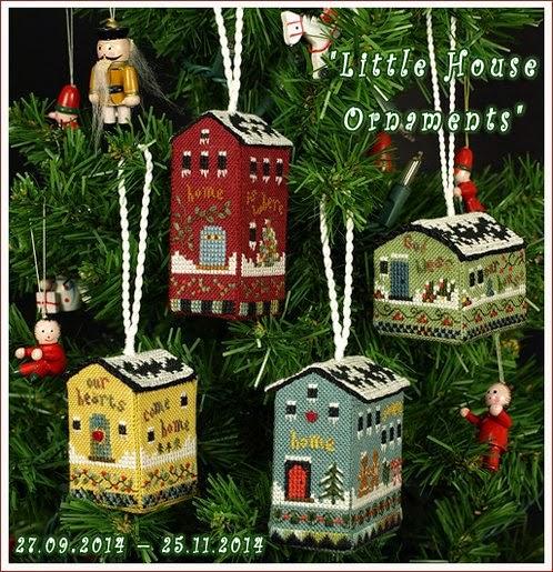 Little House Ornaments - совместный проект