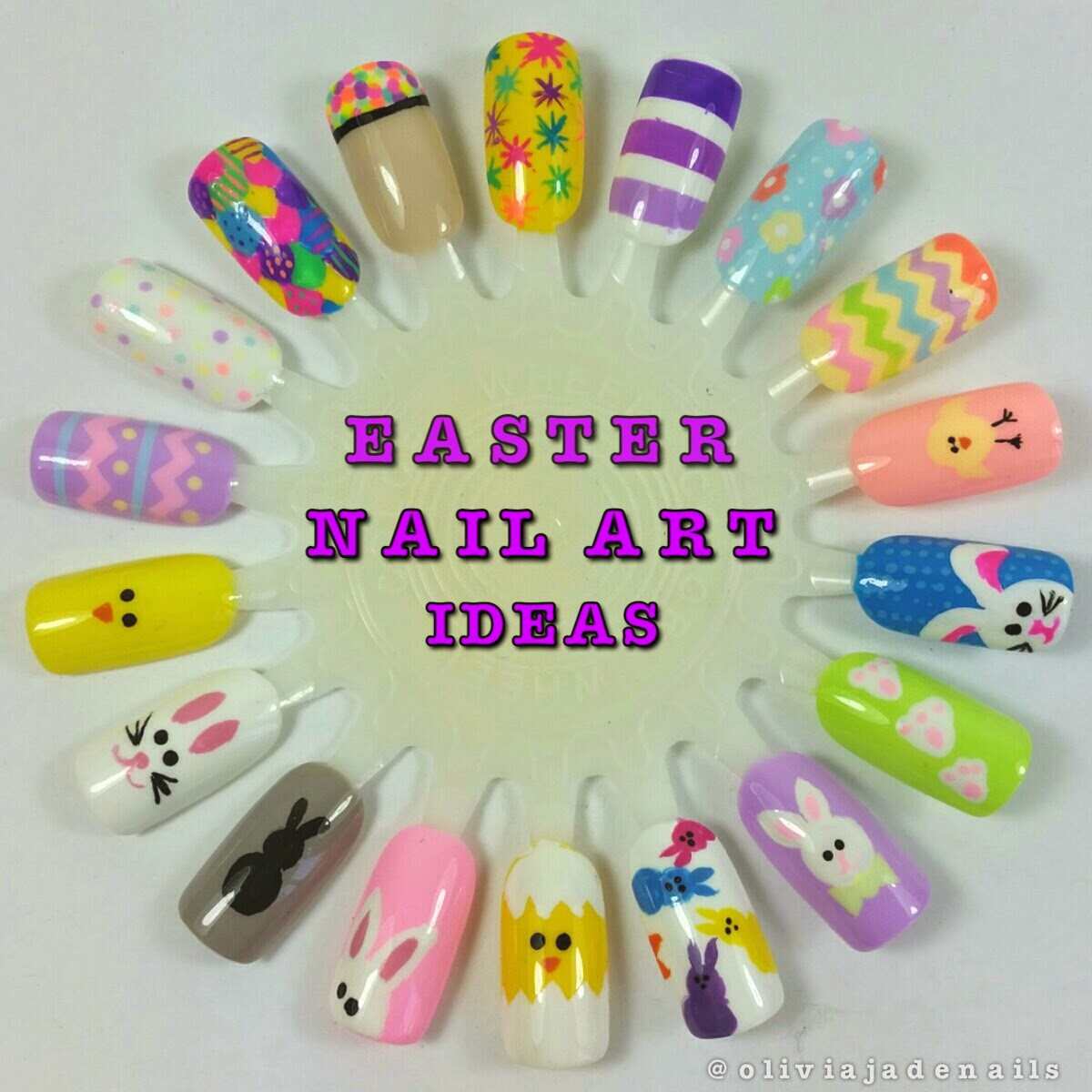 Baby ... - Olivia Jade Nails: Easter Nail Art Ideas