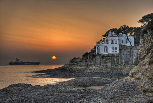 photo royan, cote de st palais, paysages de Charentes maritimes, maison royan st palais, villa royan st palais, photo hdr, photo hdr coucher de soleil, cote charentaise, cote atlantique, photo fabien monteil
