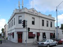 The Exchange Hotel, Bay Street Port Melbourne