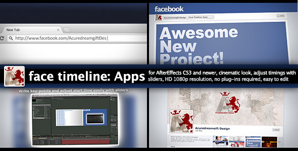 VideoHive Face Timeline Apps