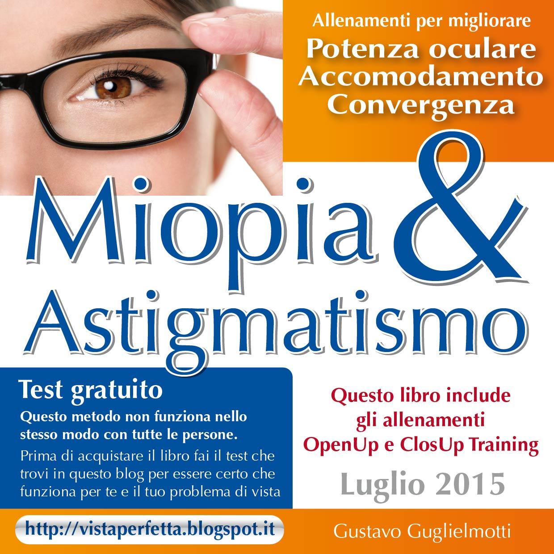 Curare miopia e astigmatismo