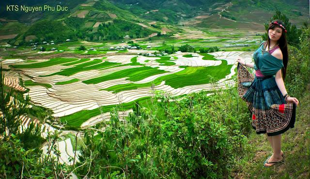 Khau Pha pass - Yen Bai - Vietnam