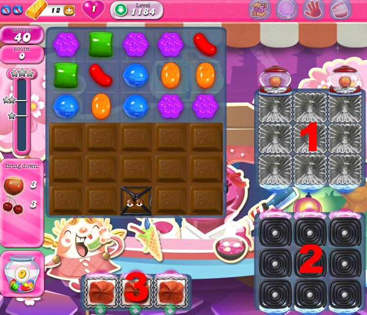 Candy Crush Saga 1184