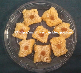 Paneer Sweet Corn Barfi recipe in marathi