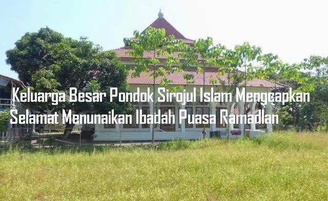 Menjelang Bulan Ramadlan 2014 di Ponpes Sirojul Islam