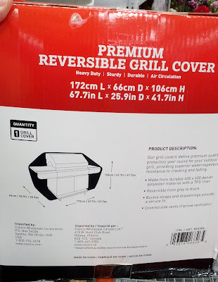 Protect your grill with the Premium Reversible BBQ Grill Cover