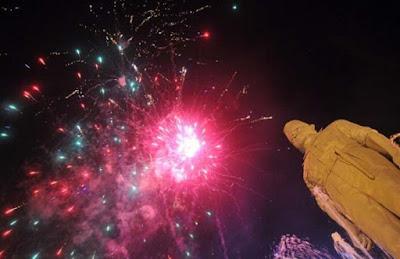 Gedung Grahadi Siapkan Pesta Kembang Api Kelas Dunia Di Pergantian Tahun