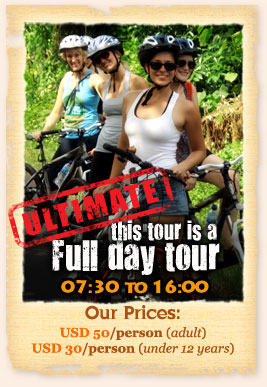 UBUD BIKE Tour Cheap Price USD 50
