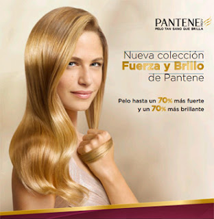 Colección Pantene Fuerza y Brillo cabellos teñidos y dañados