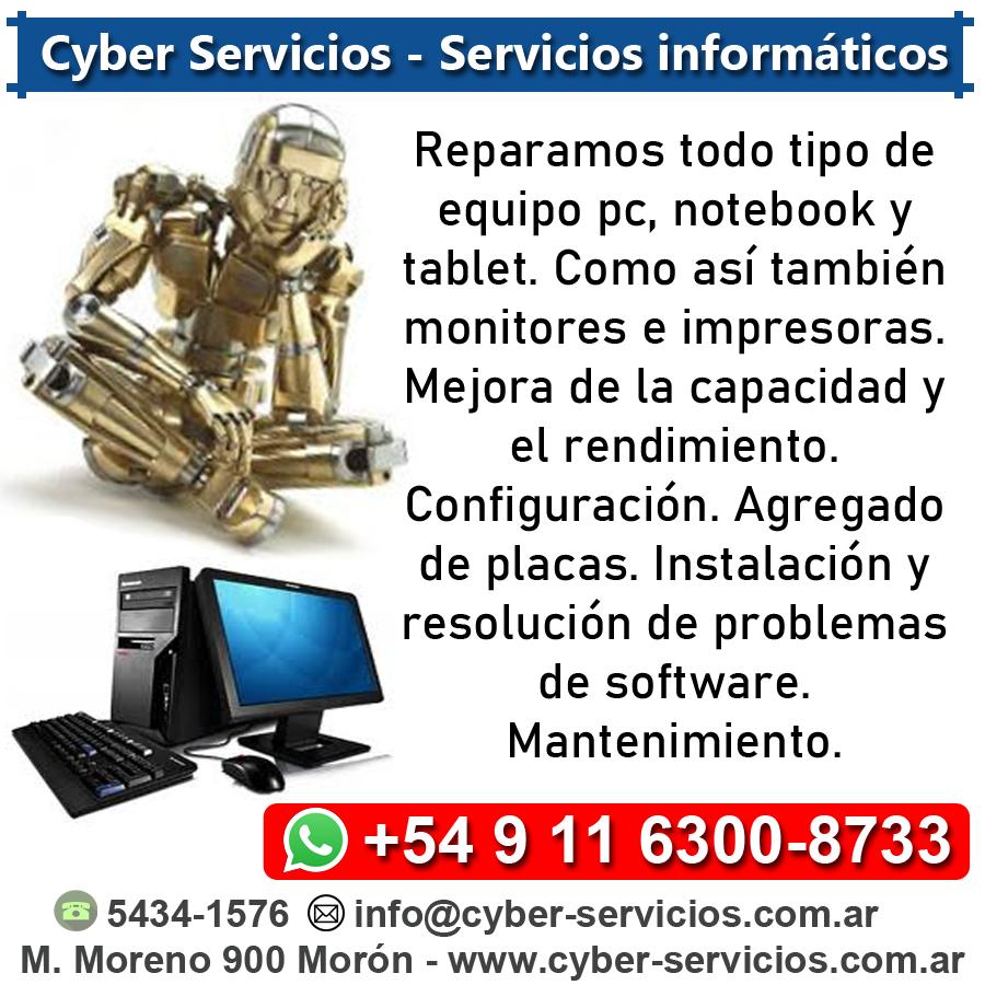 Auspiciantes - Cyber Servicios