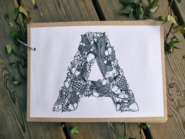 Typography by Mari Drivdal Lie