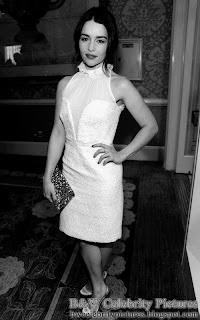 B&W pics of Emilia Clarke picture 2
