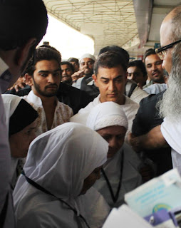 Aamir Khan Leaves For HAJJ with mother
