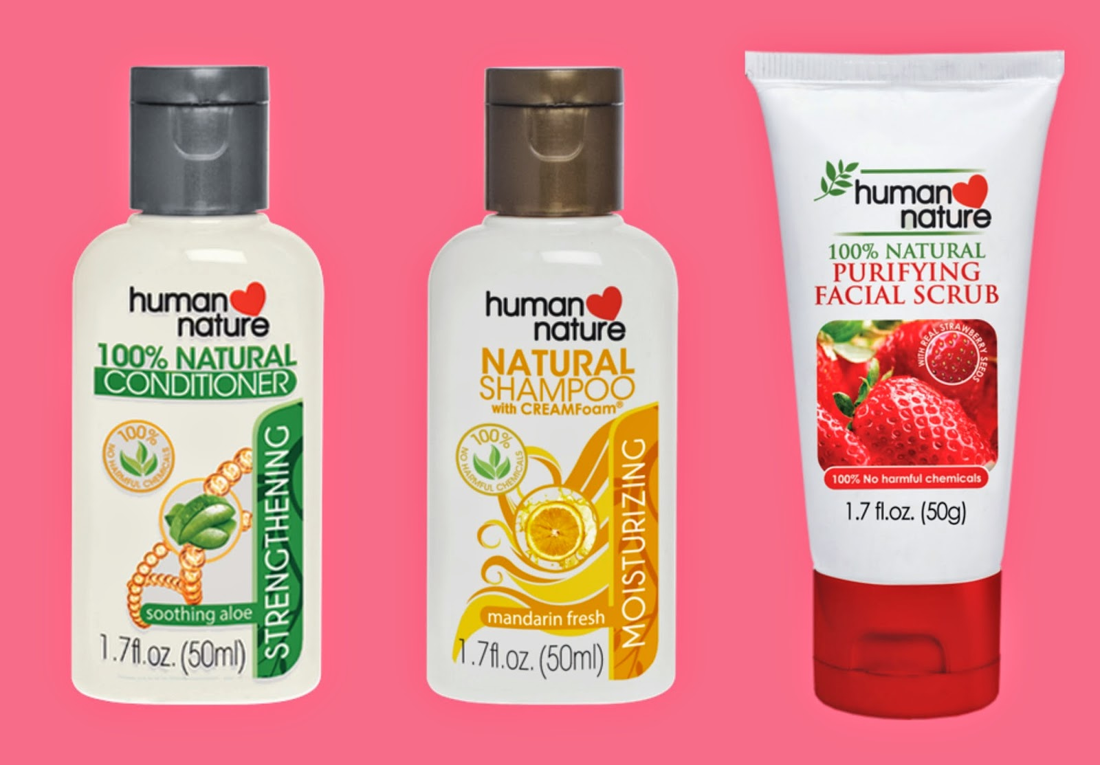 human nature natural shampoo