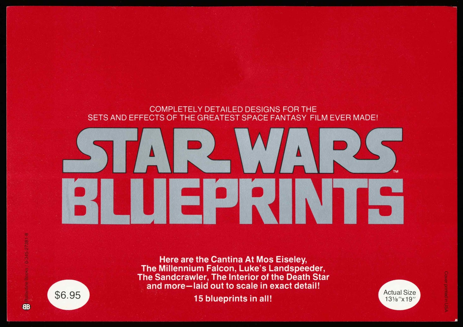 Tenth letter of the alphabet may 2013 star wars blueprints ballantine books 1977 malvernweather Image collections