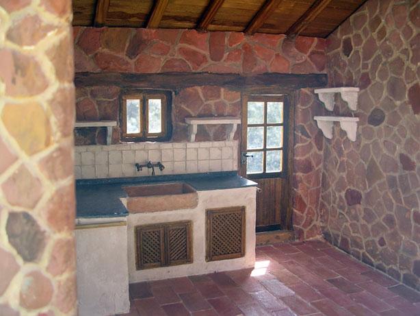 Miniaturas kriana la cocina r stica - Cocina de ladrillo ...
