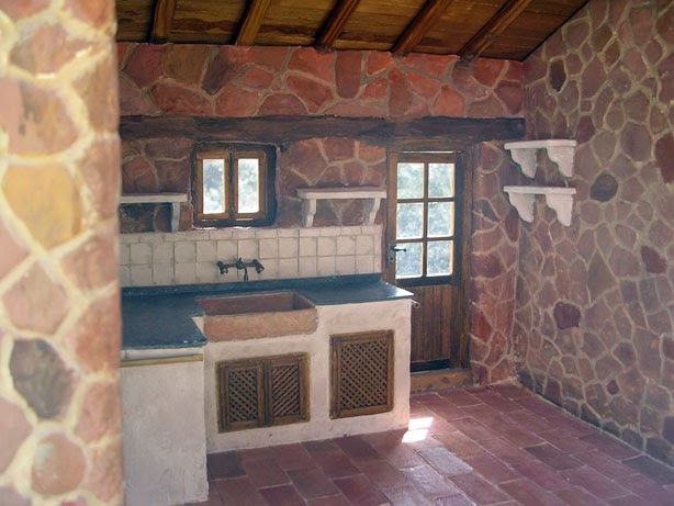 Miniaturas kriana la cocina r stica - Cocinas rusticas de ladrillo ...