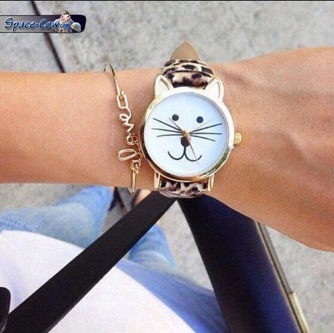 funny cute cat watch