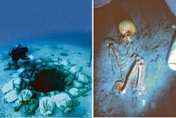 The 9,000-Year-Old Underground Megalithic Settlement of Atlit Yam in the Mediterranean Sea