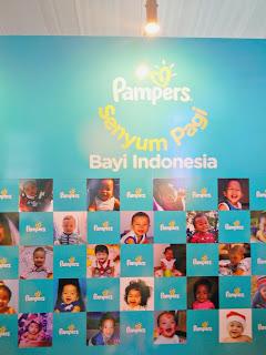 Wall of fame Pampers Senyum Pagi Bayi Indonesia