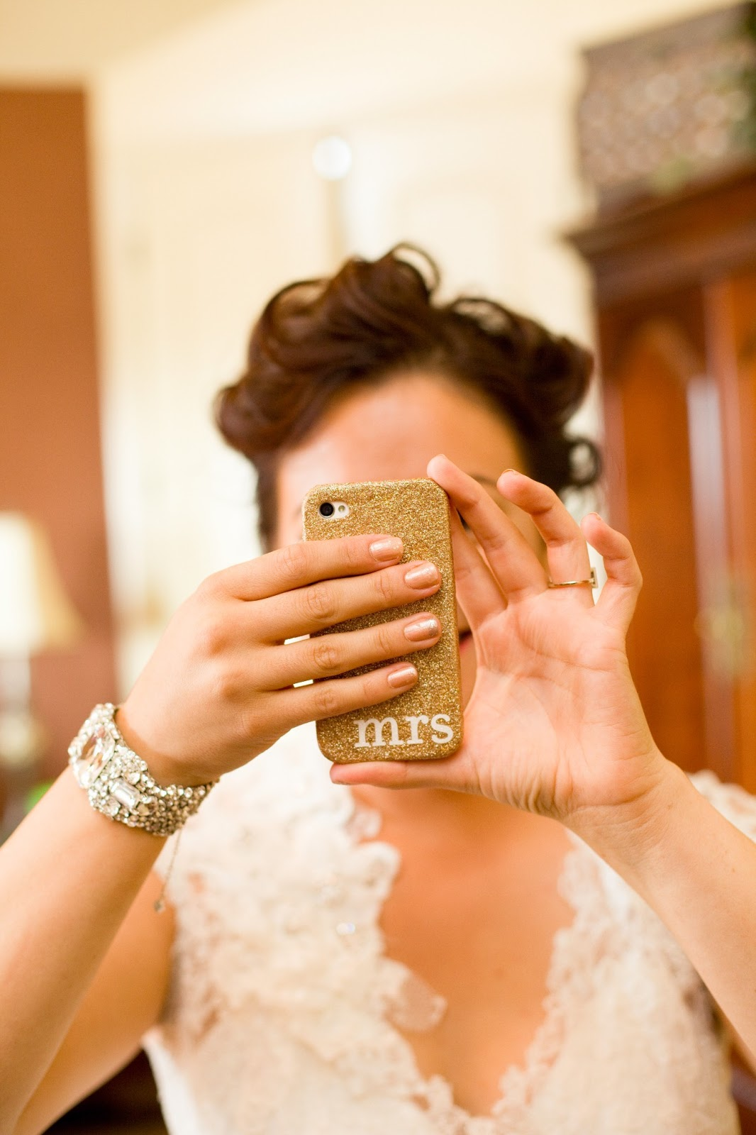 SF Bay Area Fashion & Lifestyle Blog - The Mrs. Mani - Wedding Day Nails
