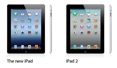 The New iPad vs. the iPad 2