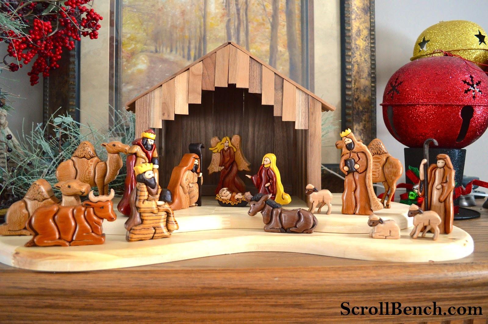 Nativity Scene Patterns Custom Ideas