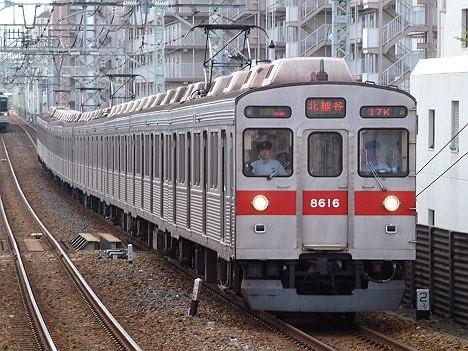 東京メトロ半蔵門線 東武伊勢崎線 準急 北越谷行き 8500系