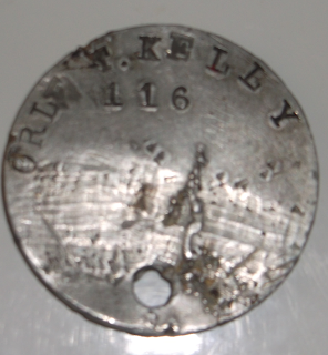Case #18: T. Kelly WW1 American Soldier's Dog Tag Rescued