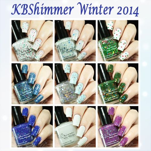 KBhimmer Winter Collection 2014 Swatches and Review