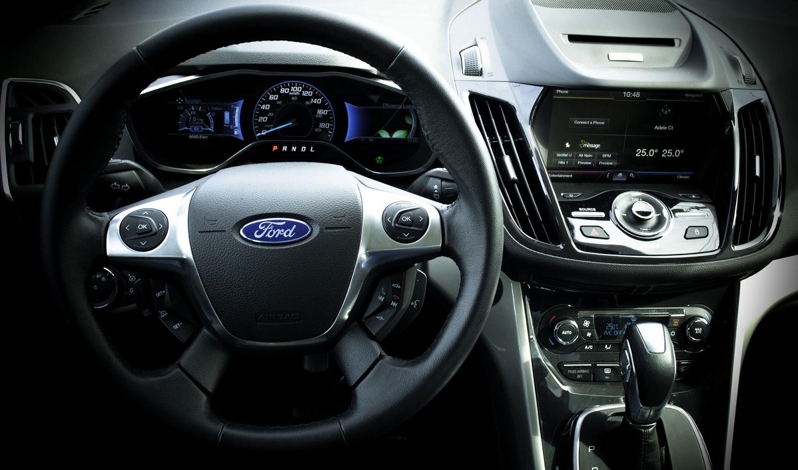 2013 ford c max hybrid sel interior