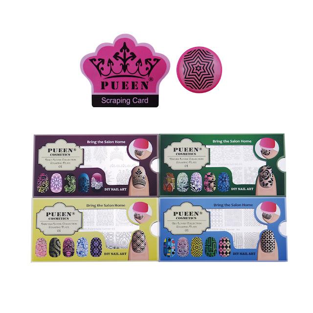 Lacquer Lockdown - Pueen Cosmetics, Pueen, Stamping Lover Set, nail art stamping blog, nail art stamping, stamping, new stamping plates 2015, new stamping plates, stamping plates, nail art, diy nail art