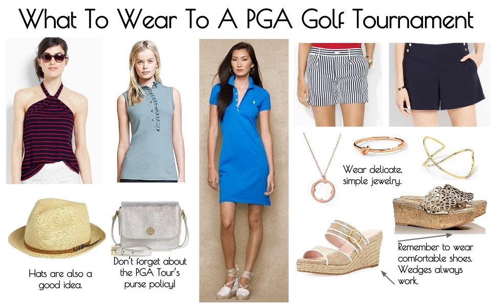 What To Wear To A PGA Golf Tournament