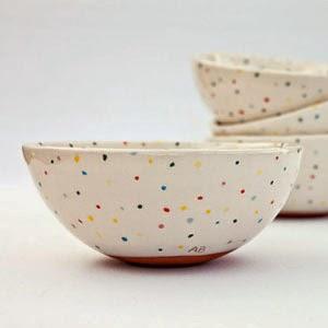 Ma Bicyclette - Buy Handmade - Ceramics - Baskakova - Cereal Bowl