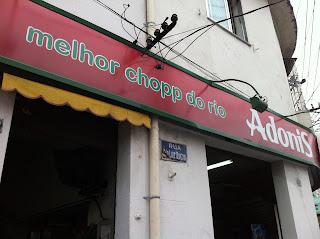 Fachada do Bar Adonis, Rio de Janeiro, Benfica