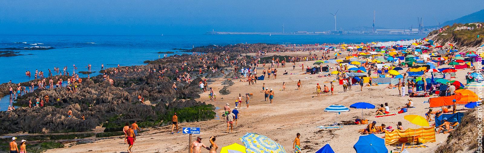 Praia de amorosa beach viana do castelo tourism portugal - Viana do castelo portugal ...