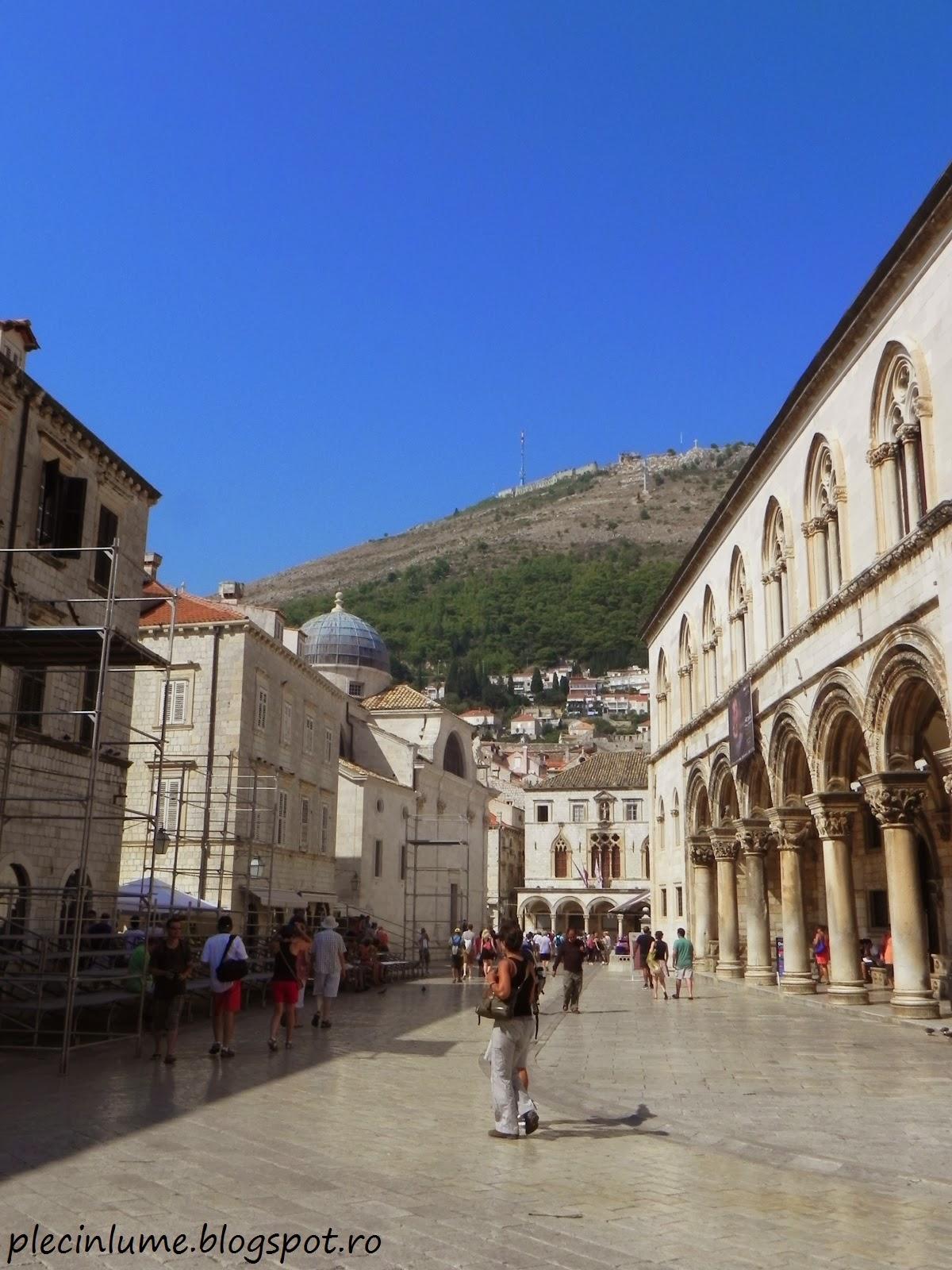 O strada mai pustie in Dubrovnik