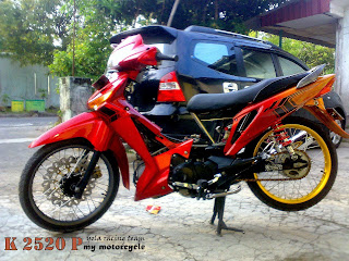 Modifikasi MotorSupra X 2013/2014