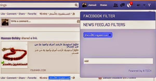 Facebook Filter 0.2
