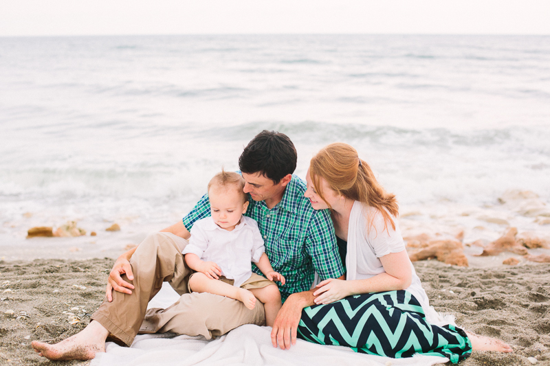 coral cove beach family pictures