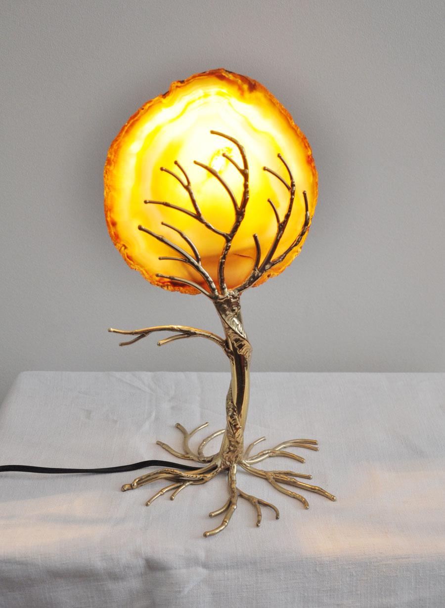 lampe arbre henri fernandez l 39 amateur eclair. Black Bedroom Furniture Sets. Home Design Ideas